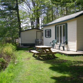 The Bunkie only available w/Cottage #11